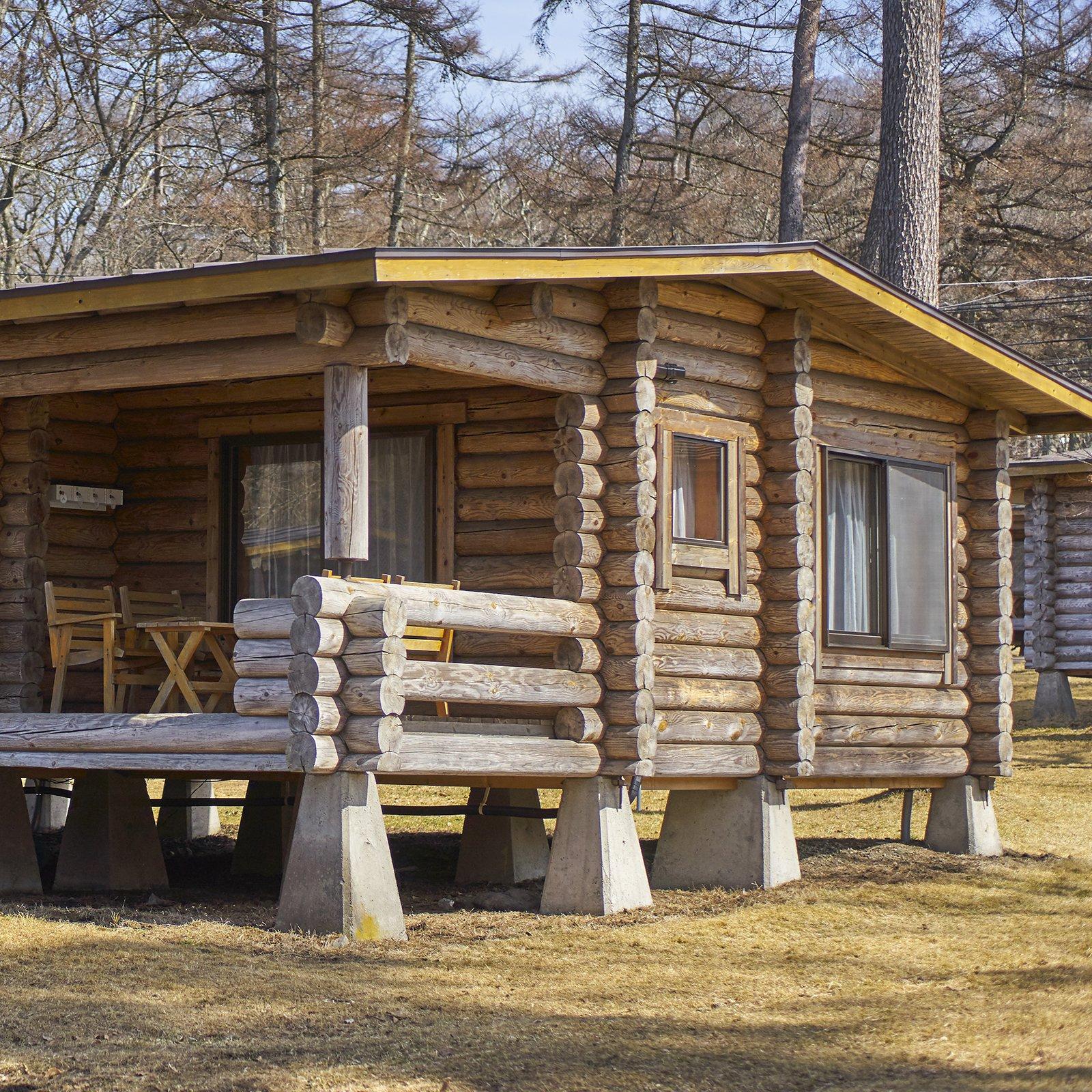 Maison En Bois Normandie 6x8 wooden cottage